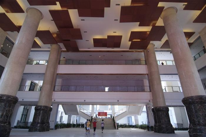 国际学校教学楼大厅